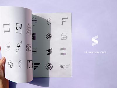 Branding Process & Iteration s logo branding
