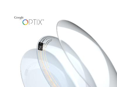 Google Optix™ - Smart Contacts Concept concept google optix optics contacts lens contact lens prototype