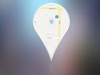 Concept Location Pin Logo