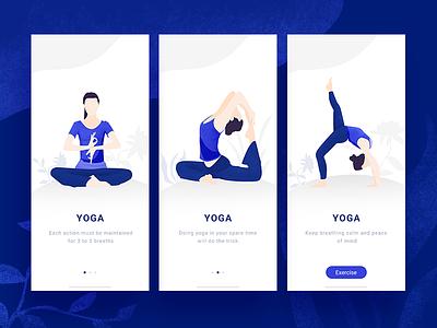 APP design 041 movement app yoga iphone x