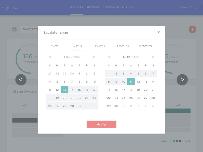 Date Picker date picker calendar product design interface design interactive design ux ui