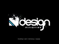 Design Ministries Logo [Black]