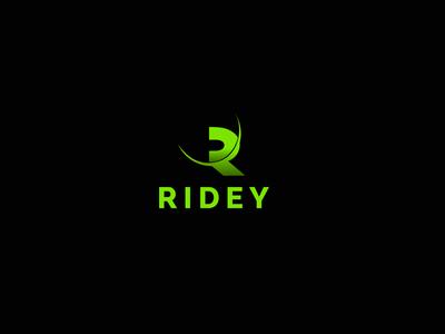 Ridey / Branding / R letter