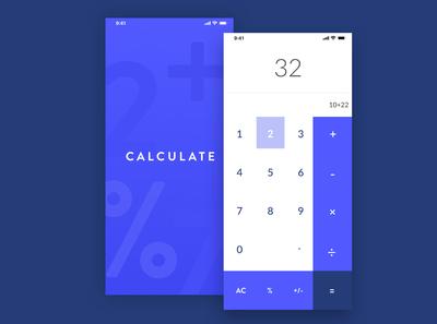 Daily UI - 04 | Calculator