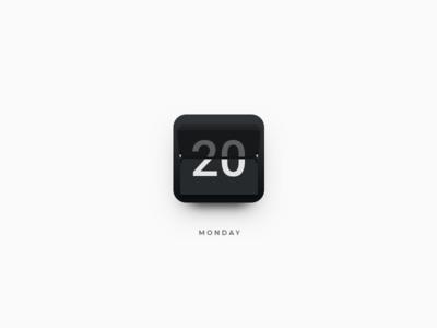 Calendar Icon mac os conference ui icon time smartisan zklm0000 photoshop