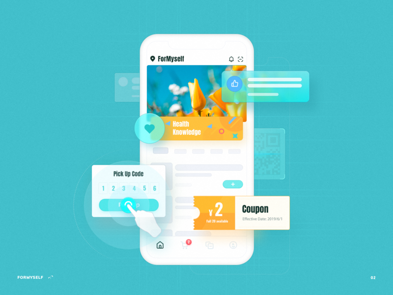Project Introduction Illustration 2 uiux andoid ui kit smartisan icon illustration photoshop zklm0000