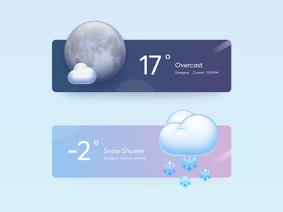 Weather Widget 3 figma moon zklm0000 icon photoshop smartisan mac os app aqua os x weather app