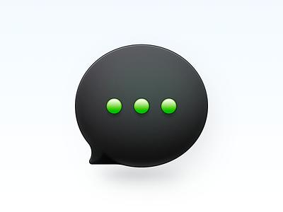 Message Icon aqua phone os x mac os smartisan ui photoshop icon zklm0000