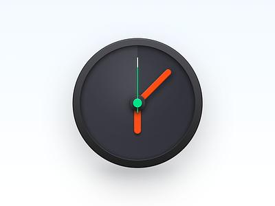 Clock Icon os x mac os smartisan photoshop ui icon zklm0000