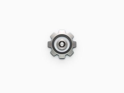 Setting Icon skeuomorphism android app os x mac os smartisan ui photoshop icon zklm0000