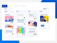 Background management page
