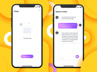 Chat page concept design