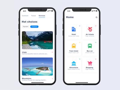 Travel Travel App Concept Design design concept