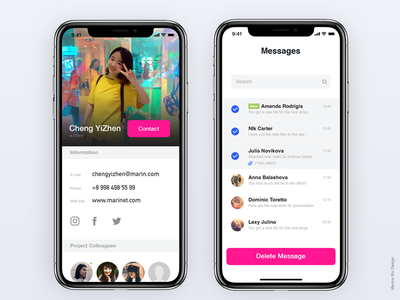 APP details page and personal page effect bright differentiation data visualization colors backstage ui 趋势 web 概念 branding ux typography illustration art 设计 产品 product interface design