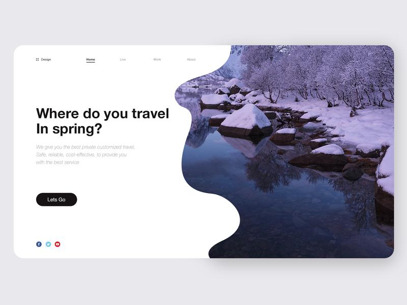 Private custom tourism project WEB illustration concept backstage 卷筒纸 vector 向量 商标 后台 插图 概念 设计 产品 ui