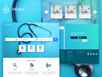 Healy - HealthCare Search Engine