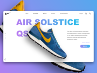 Nike Air Landing Page Concept
