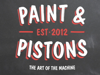 More Paint & Pistons