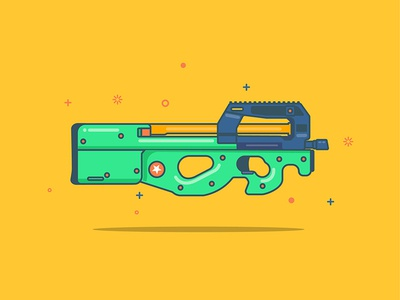 P90 designs, themes, templates and downloadable graphic