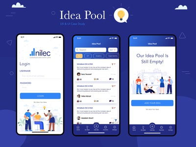 Idea Pool Mobile and Web Apps