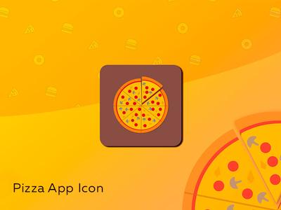 Pizza App Icon Dailyui 003