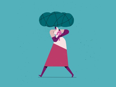 700km hand drawn graphic art animation illustration design flat colours illustration art female character flat drawing colours figureillustration illustration