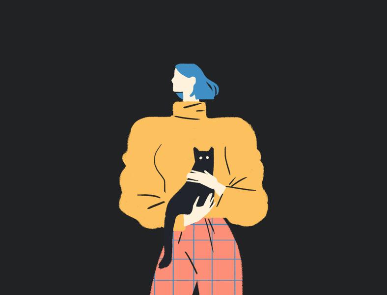 Cattaker illustration art illustration digital figureillustration cats graphicdesign illustration
