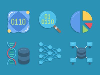Icons data science data science illustration icons pack iconset icons design icons icon designs designer