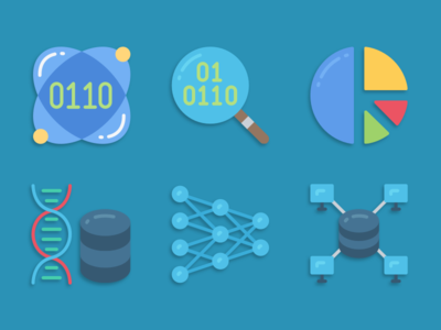 Icons data science