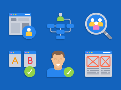 User experience icons user experience ux illustration icons pack iconset icons design icons icon designs designer