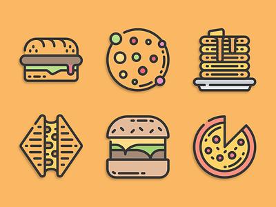 Fast food icons fast food illustration icons pack iconset icons design icons icon designs designer