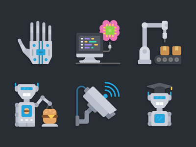 Icons automation illustration icons pack iconset icons design icons icon designs designer