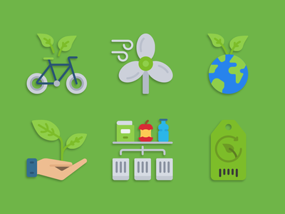 Environment protection icons friendly environment eco illustration icons pack iconset icons design icons icon designs designer