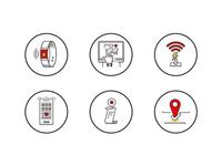 Smart Club Icon Set