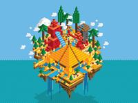 Lego Lost World