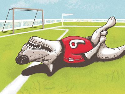 Injured Dog digitalart inktober2019 inktober illustration
