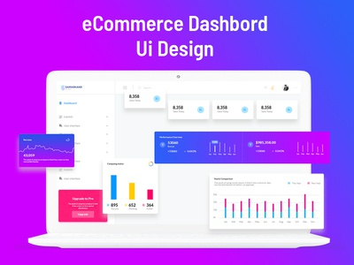 Ecommerce Dashbord Ui Design