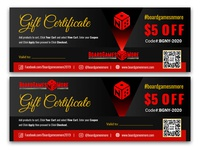 Coupon Ticket Design