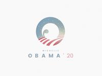 Michelle Obama campaign logo