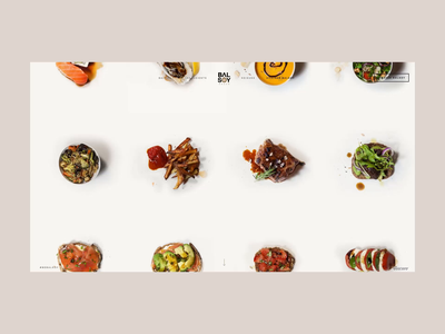 Balsoy recipes page balsoy avocado sushi salad cooking clean lightbox ui ux grid food soy sauce vinegar sauce meat recipe recipes landing popup web