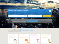 Webdesign for Dibide
