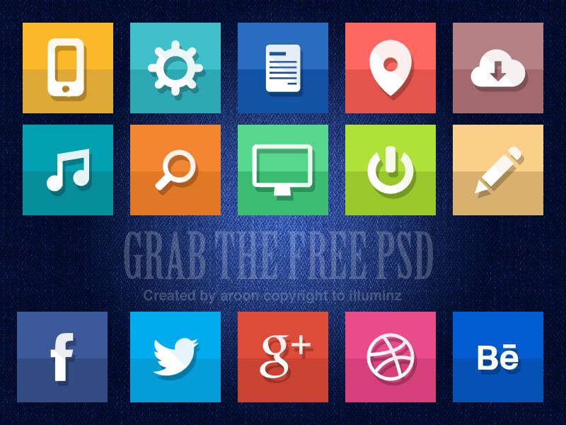 Free icons free freepsd psd ui icons freeicons flat flaticons
