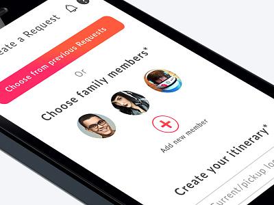 Add family  new add family mobileapp design ux ui app