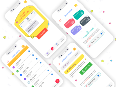 Self Birthday reminder app payment reminders notifications price animation emoji android ios mobile app