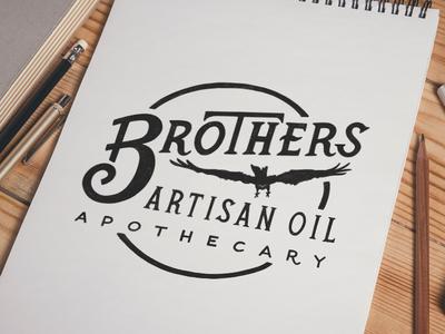 Brothers Artisan Oil - Logo Stamp
