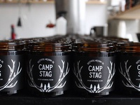Brothers Artisan Oil - Camp Stag Candle