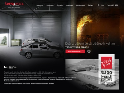 Terrawool Rockwool Insulation Company Website Design
