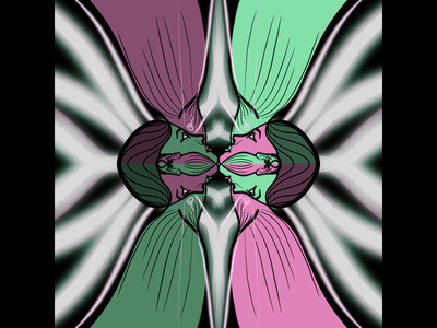 Point of view view of point soul mind digital 2d colors black digital graphic design character design illustration art concept