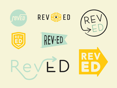 Rev ED Logo Concepts