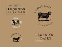 Legend's Dairy Logo